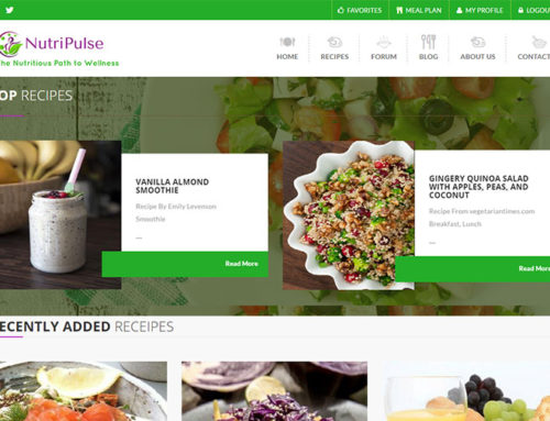 Vitamin Recipe Website
